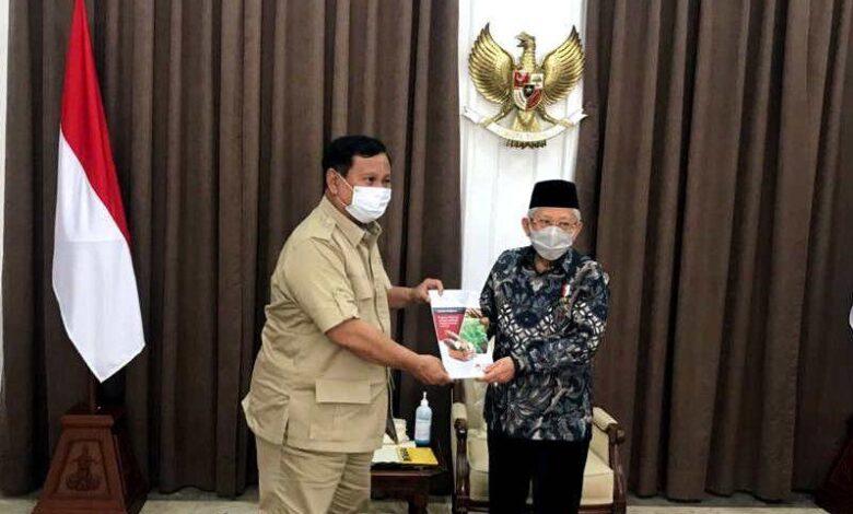 Photo of Laporkan Masalah Ketahanan Pangan, Prabowo Temui Wapres