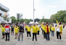 Photo of Menpora RI Buka Exhibition Aerobic Competition