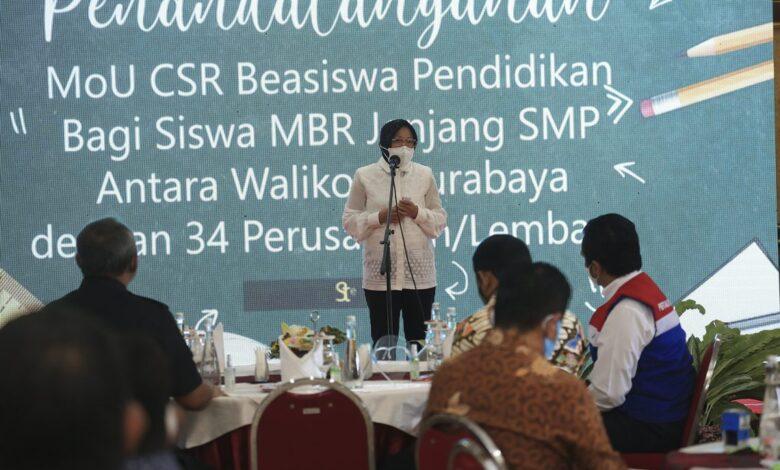 Photo of Pemkot Surabaya Terima CSR Beasiswa